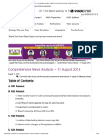UPSC Current Affairs August 11 2016 _ Comprehensive News Analysis _ BYJU's