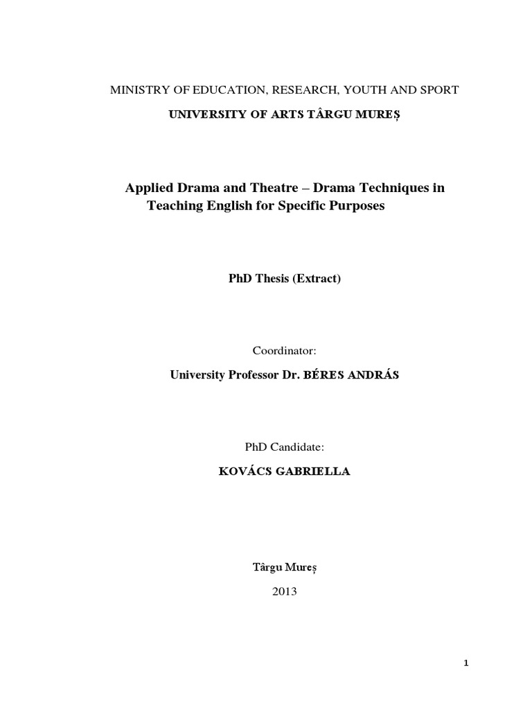 Phd thesis feature extraction