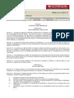 Reglamento SS 2011