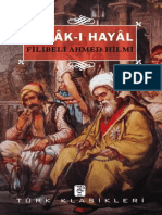 Filibeli Ahmed Hilmi - A'Mak-ı Hayal-3