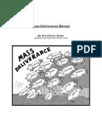 Deliverance Manual Watchmen Radio Edition