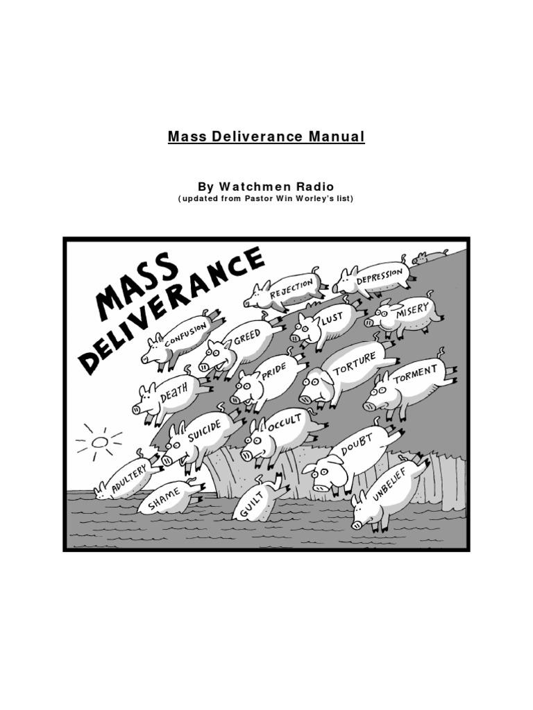 Deliverance Manual Watchmen Radio Edition | Demons | Satan