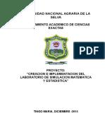 Proyecto Creacion Lab.simulacion-2015