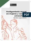 Hostig Sexual en Mujeres y Varones Universitarios
