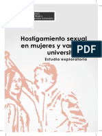 Hostig Sexual en Mujeres y Varones Universitarios