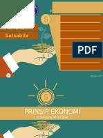 Economy ( Prinsip Ekonomi )