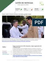 Boletín de noticias KLR 12AGO2016
