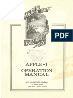Manual Apple Operation Manual