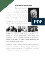 Biografía Fernando Belaúnde Terry 2 Gobiernos