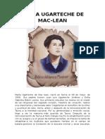 María Ugarteche de Mac