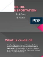 Lecture for Transportation of Crude Oil