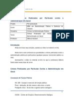 Tema 3 - Crimes Na Administração Pública-PDF
