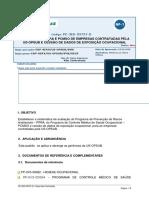 Padrão PPRA-PCMSO PETROBRAS