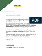 1. U.S. Economy text
