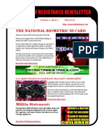 May 2010 Lone Wolf Resistance Newsletter