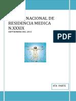 4 EXAMENNACIONAL DE RESIDENCIA MEDICA N,XXXIX AÑO 2015.pdf