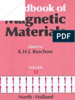 Handbook of Magnetic Materials, Volume 12