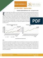 Informe Bolsa Reporte Usda Agosto