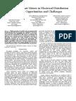 Emerging Smart Meters in Electrical Dist