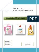 97998537 Market Research Project on Liquid Handwash