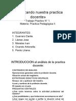 Analizando nuestra practica docente».pptx