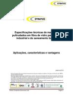 Especificações Técnicas de Materiais Em Fibra de Vidro Para Aplicações Em Saneamento Março 2011