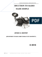 Introduction to Radio Made Simple-Apuke Destiny Oberiri