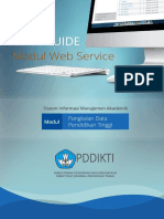User Guide Pddikti - Web Service