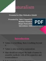 Naturalism 1