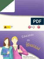 Guia de Educando en Igualdad.Guía para el alumnado. Instituto de la Mujer