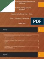 1. Conceptos y Definiciones Básicas de la termodinamica