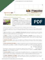 10 remedios ecológicos para evitar y combatir el pulgón _ ECOagricultor