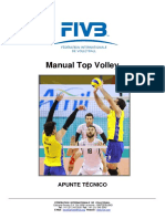 FIVB DEV Top Volley Manual Spa