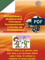 Segunda Unidad, Divisibilidad y Multiplicidad