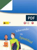 Guia Educando en Igualdad. Profesorado