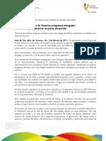 03 02 3011 - El gobernador de Veracruz Javier Duarte anunció nuevos programas integrales educativos.