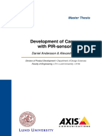 Development of Camera With PIR-Sensors