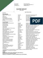 Qasim Khan May2016