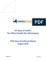 NYSOH 2016 Open Enrollment Report