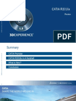 CATIA R2016x Functionnal Overview