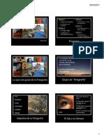 Curso de Fotografía Modulo 1