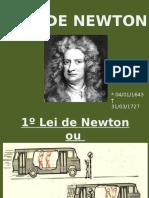 Apresentação Leis de Newton