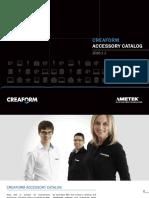 CREAFORM Accessories Catalogue 2016