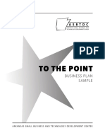 To the Point Bplan Sample Web