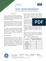 Textil Wastewater