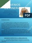 Convenios en Mineria