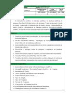 Plano de Aula - Metodologia Científica (2)