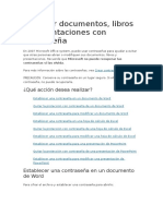 Proteger Documentos de Office