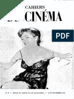 Cahiers du cinéma n. 26