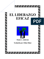 Manual. Liderazgo Eficaz Importante